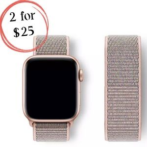 Pink Sand Sport Loop Band for Apple iWatch